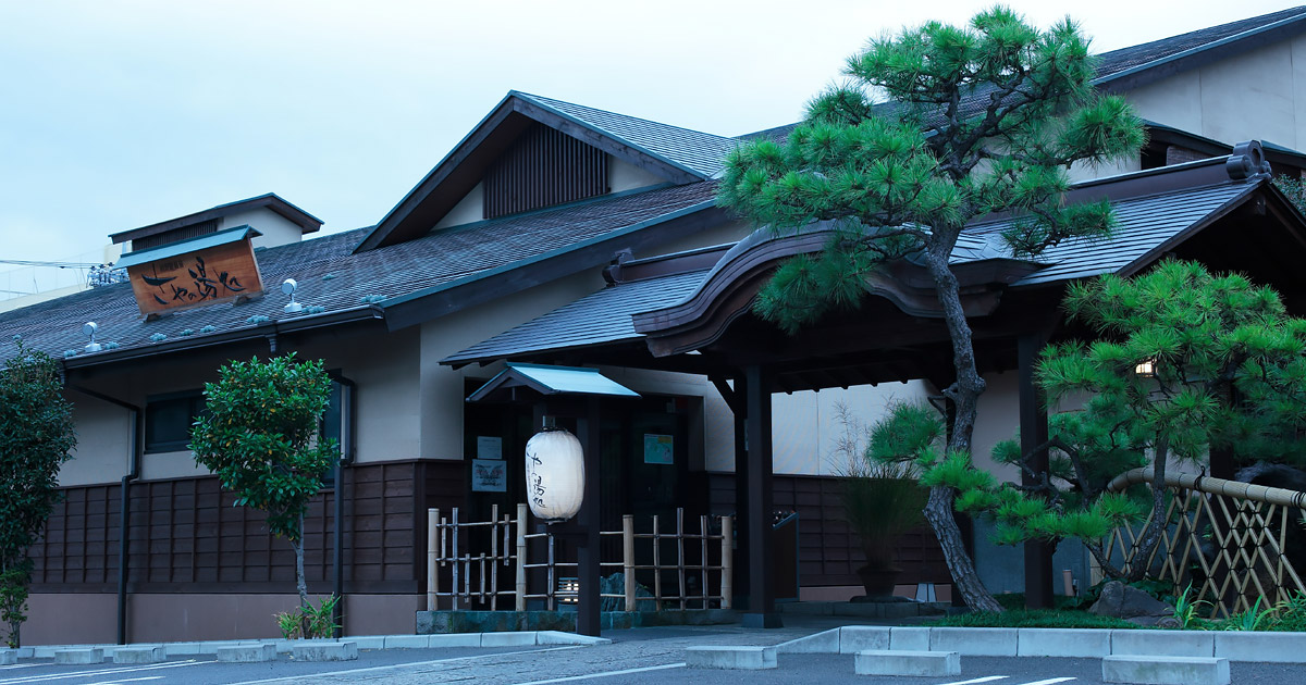 東京日帰り温泉 源泉かけ流し|前野原温泉 さやの湯処