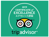 Certificate of Excellence2019 tripadviser