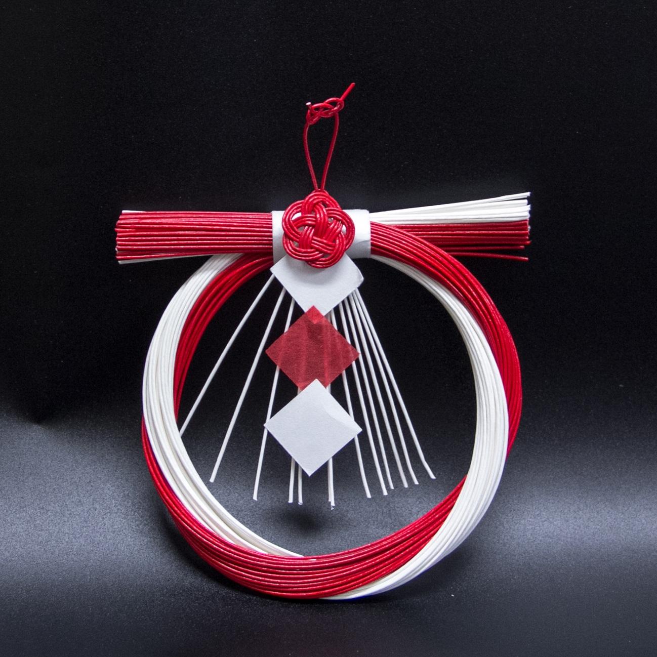 ワークショップ室礼教室『お正月の輪飾り』